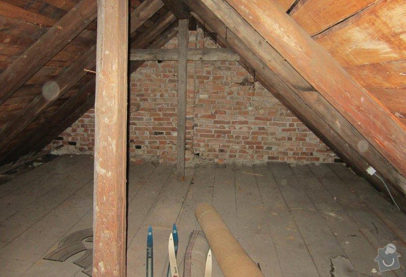 Nová střecha - trámy, krovy, krytina: 0008