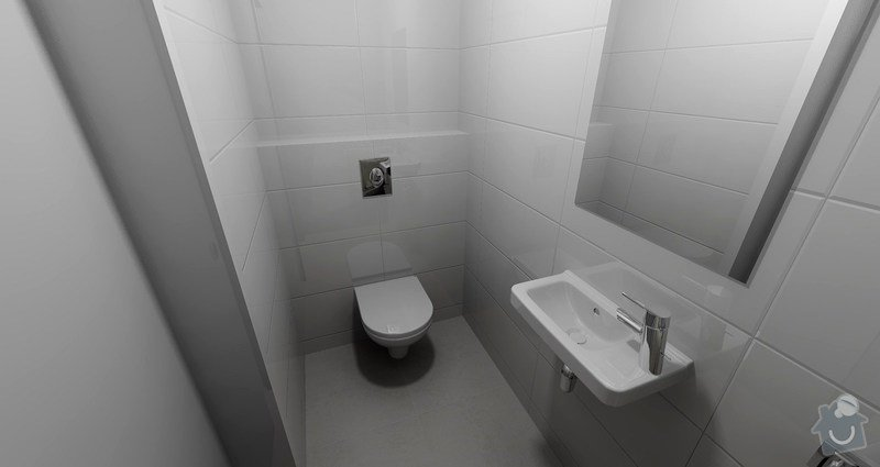 Rekonstrukce luxusní koupelny a přidělání WC: VIZ_ZACHARIAS_PETR_WC_VER2_2