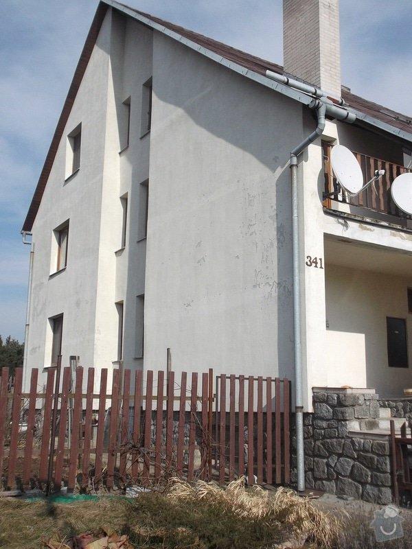 Oprava nátěru oprýskané fasády RD: dum_341