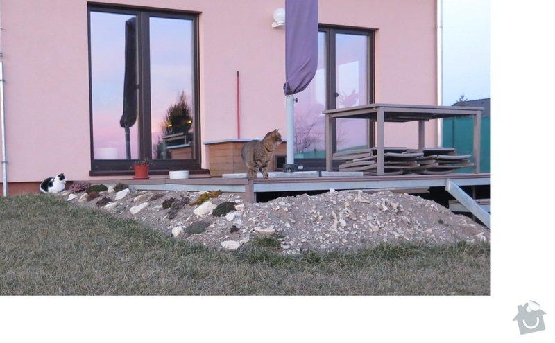 Zhotovení květináčů/teras u terasy: terasa