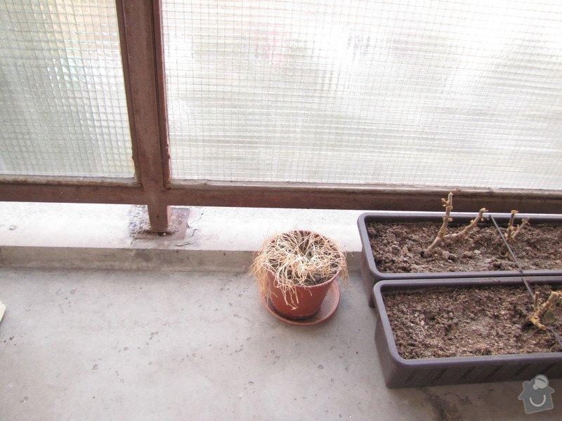 Oprava balkonu v panelaku: Podlaha_-_schodek