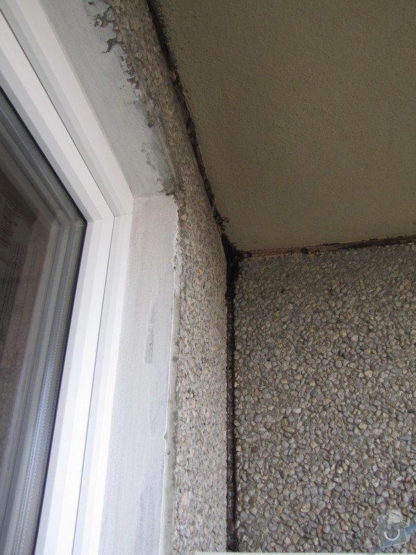 Oprava balkonu v panelaku: Roh_balkonu_-_spary