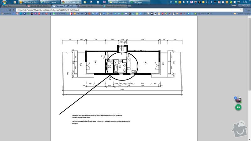 Přestavba koupelny ve stylu reference: PITKOVICE_KOUPELNA