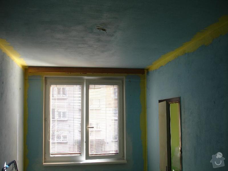 Částečná rekonstrukce panelového bytu 2+1 (44m2): loznice