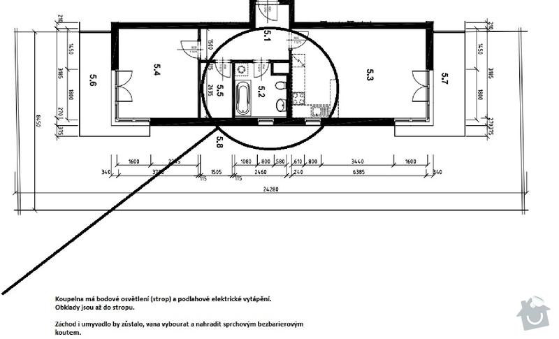 Přestavba koupelny ve stylu reference: KOUPELNA_ZVETSENO