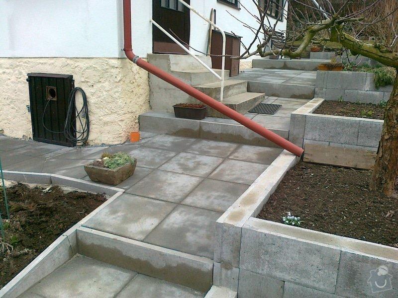Rekonstrukce chodníku a zídek: 130320151200