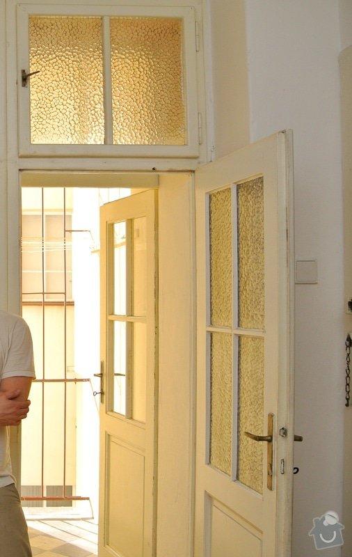 Těsnění a úpravy špaletových oken: Dvere_a_svetlik_lodzie