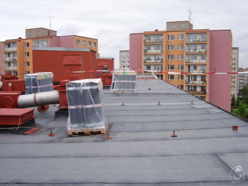 Hydroizolace plochých střech, balkonů, teras, opravy fasád, průmyslové syntetické podlahy: SL709618