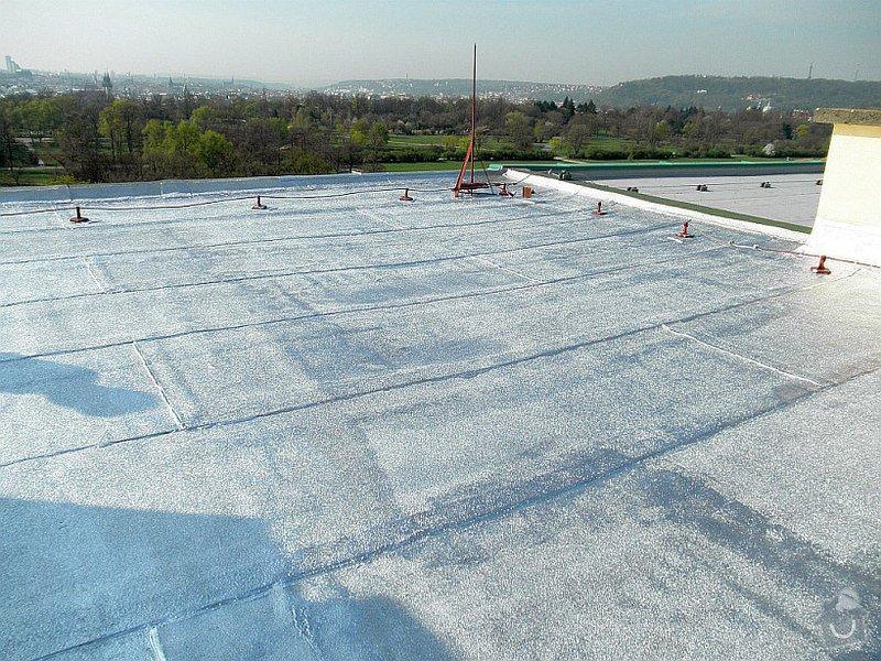 Hydroizolace plochých střech, balkonů, teras, opravy fasád, průmyslové syntetické podlahy: Reflexol