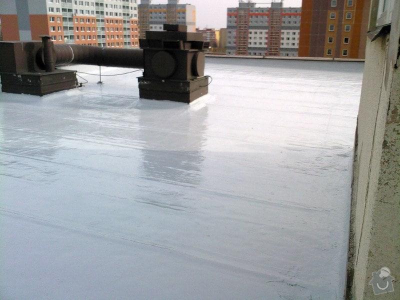 Hydroizolace plochých střech, balkonů, teras, opravy fasád, průmyslové syntetické podlahy: nc3a1tc5a1r250