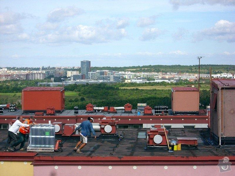 Hydroizolace plochých střech, balkonů, teras, opravy fasád, průmyslové syntetické podlahy: TRANSPORT