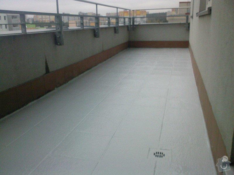 Hydroizolace plochých střech, balkonů, teras, opravy fasád, průmyslové syntetické podlahy: jjt