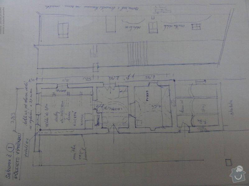 Rekonstrukce chalupy: pudorys_chalupa