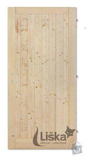 Jednoduché vnitřní palubkové dveře: plne_lux_zmensene