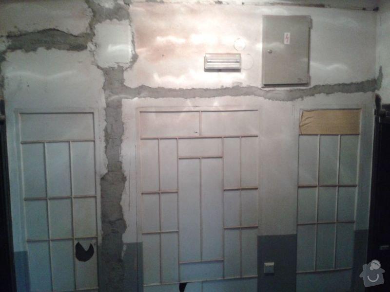Zednické práce - rekonstrukce chodby v domě: 20150316_174826