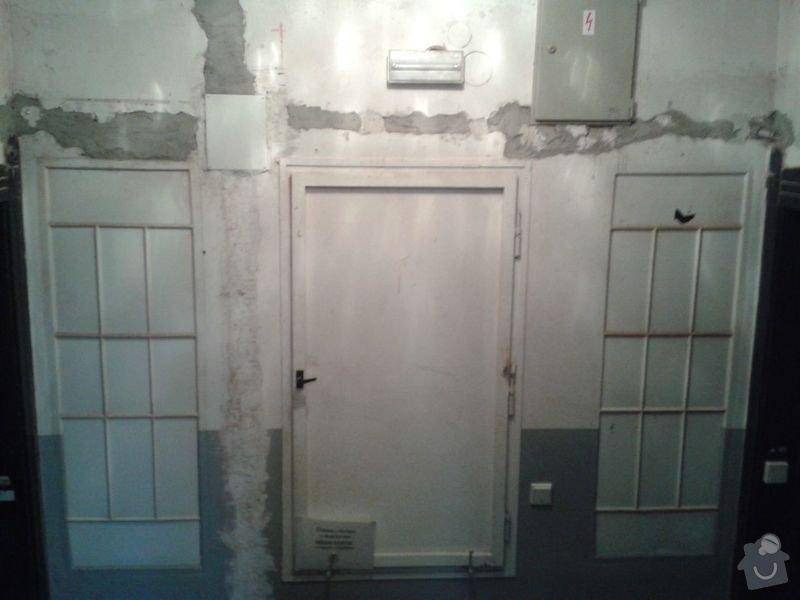 Zednické práce - rekonstrukce chodby v domě: 20150316_174952