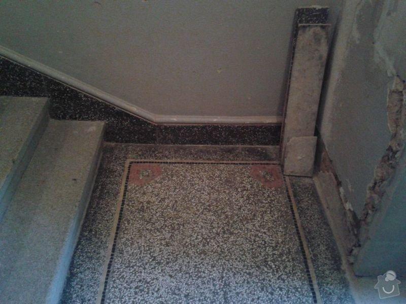 Zednické práce - rekonstrukce chodby v domě: 20150316_174856