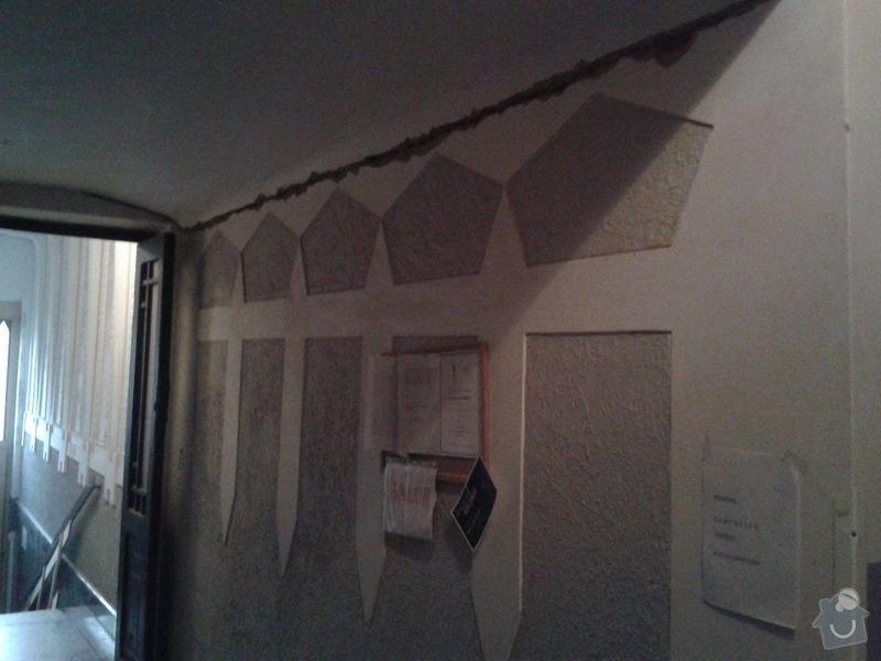 Zednické práce - rekonstrukce chodby v domě: 20150316_175038