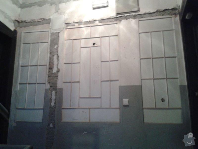 Zednické práce - rekonstrukce chodby v domě: 20150316_175902