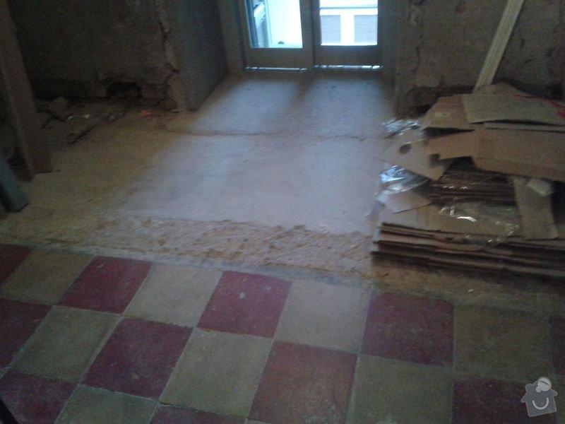 Zednické práce - rekonstrukce chodby v domě: 20150316_175921