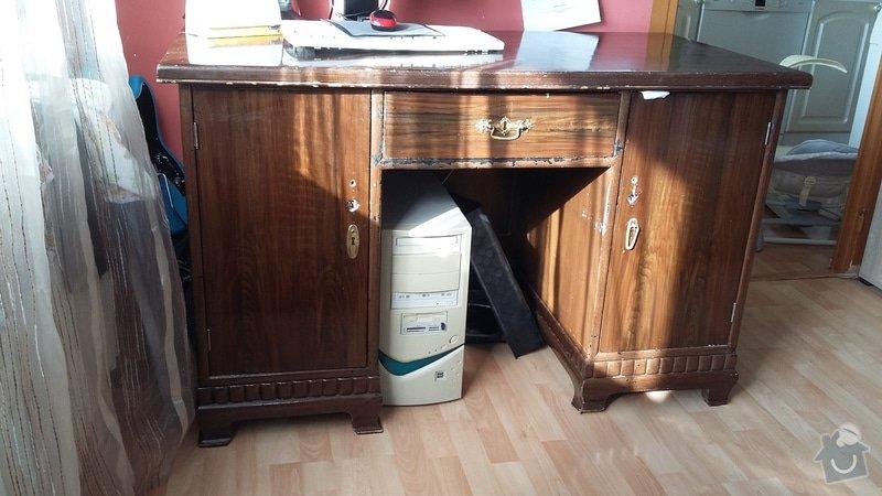 Renovace psacího stolu: 20150318_090926