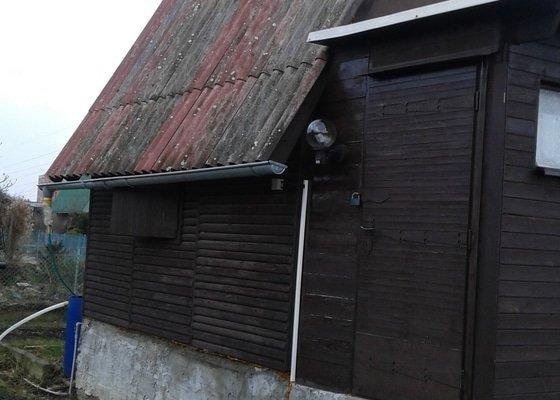 Nátěr a celková penetrace eternitové střechy - cca.27m2