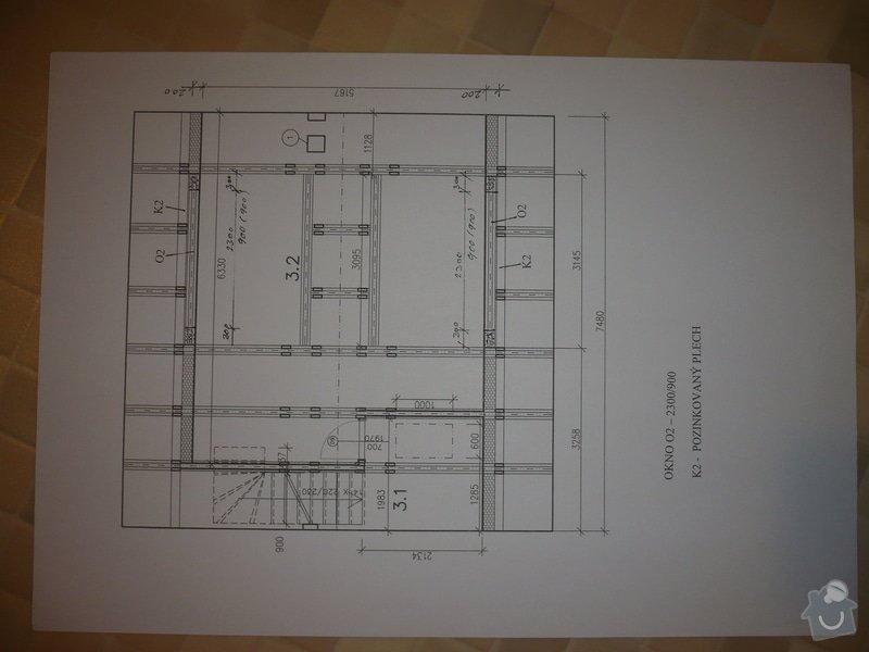 Výstavbu dvou vikýřů: P1060215