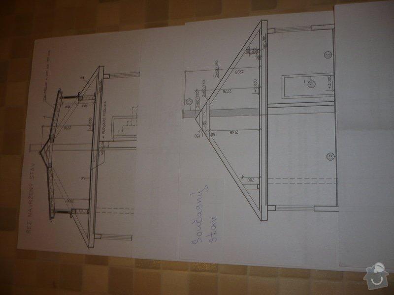 Výstavbu dvou vikýřů: P1060214