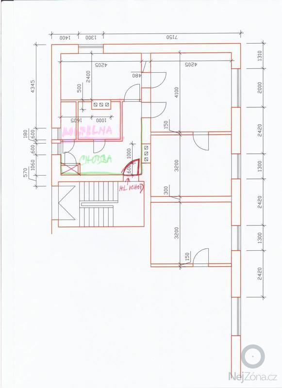 Cenová kalkulace na rekonstrukci koupelny: dispozice_bytu_001