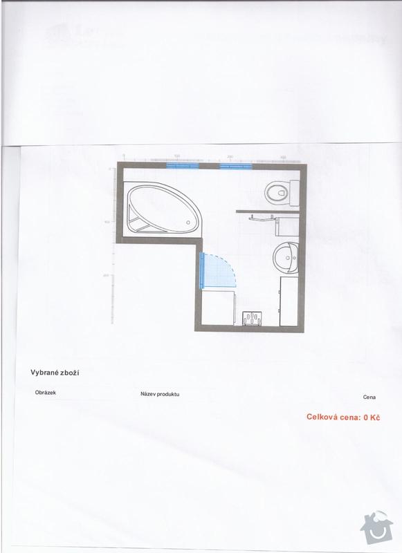 Cenová kalkulace na rekonstrukci koupelny: navrh_c.1_001