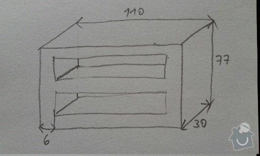 Vyroba skřínky: skrinka