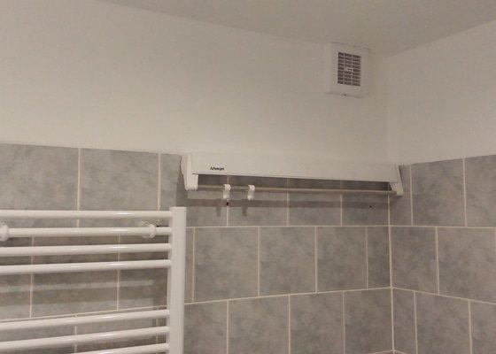 Částečná rekonstrukce koupelny