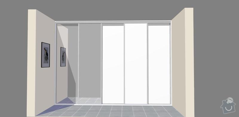 Pojízdné interiérové dveře do šatny: dvere_-7