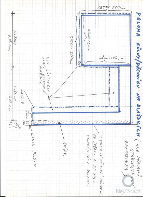 Stavba kůlny s dřevníkem - okres Kladno - prioritou rychlost zhotovení: 3_-_nakres_betonove_plochy