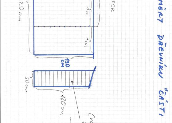 Stavba kůlny s dřevníkem - okres Kladno - prioritou rychlost zhotovení
