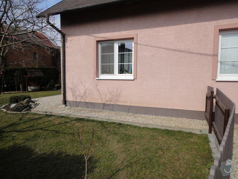 Pokládka zámkové dlažby okolo domu na klíč cca 90 m2 - dlažba vlastní: DSC05203