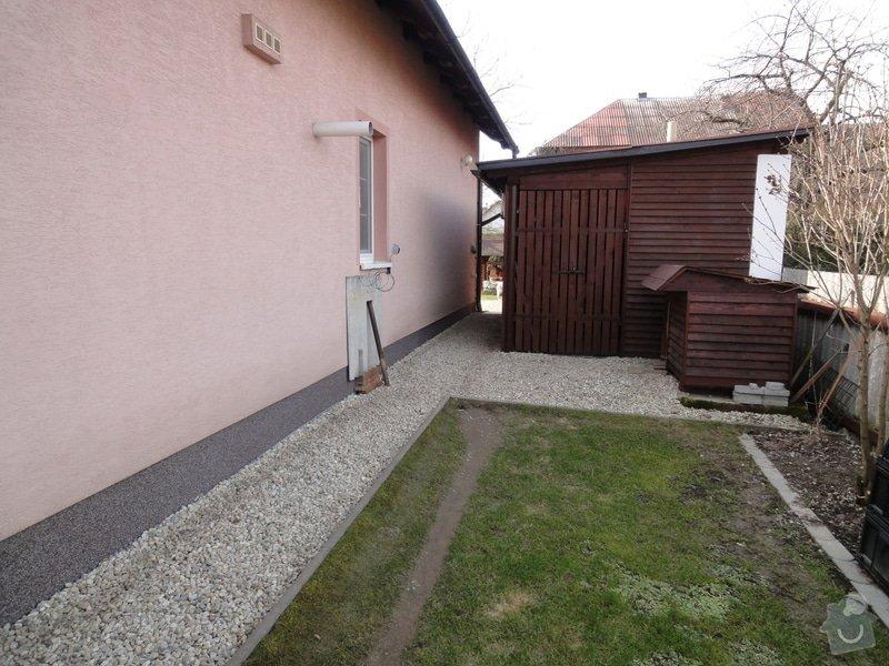 Pokládka zámkové dlažby okolo domu na klíč cca 90 m2 - dlažba vlastní: DSC05206