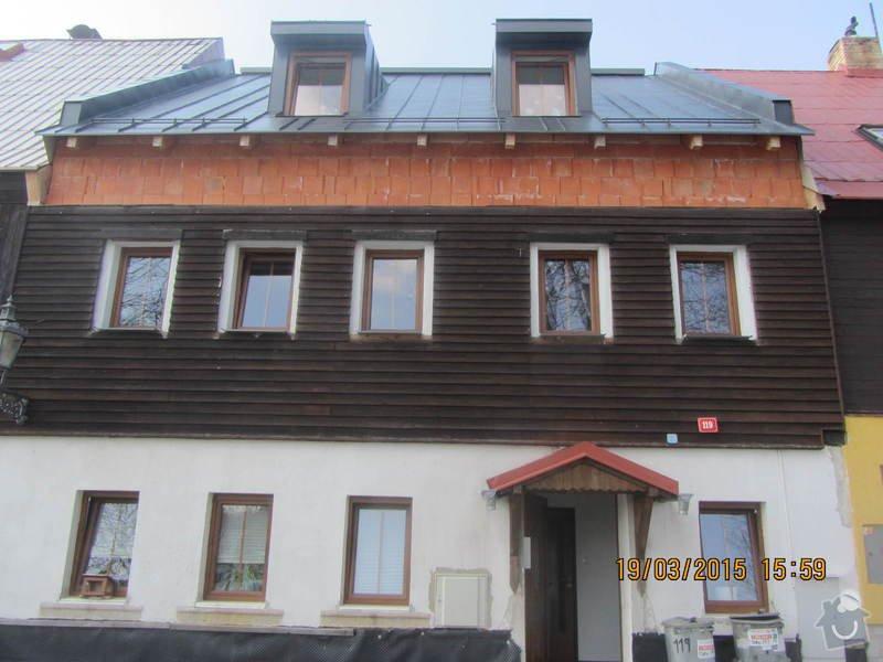 Zhotovení dřevěné fasády domu s izolací: IMG_3412