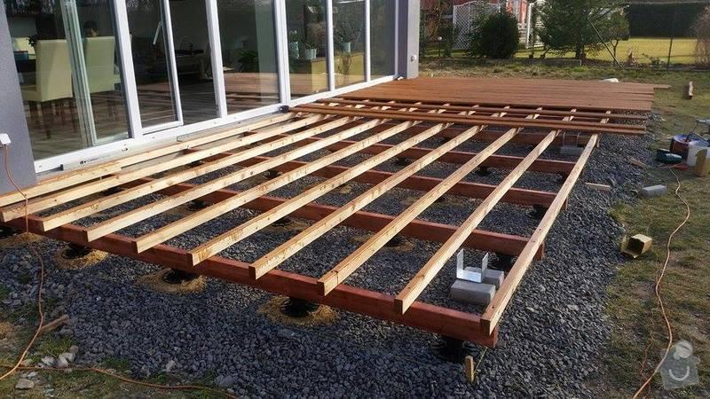 Dřevěná terasa : 11056968_10203584664090414_675365967_n