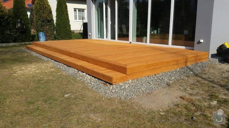 Dřevěná terasa : 11015324_10203584663090389_1243588783_n