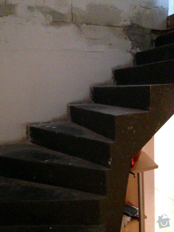 Obložení železného schodiště plovoucí podlahou: FullSizeRender