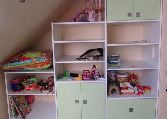 Úložné prostory v dětském pokoji