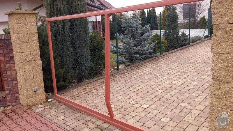 Oprava brány - ohnutý / zkřivený profil: 005