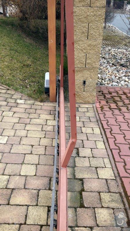 Oprava brány - ohnutý / zkřivený profil: 003