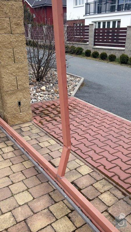 Oprava brány - ohnutý / zkřivený profil: 002