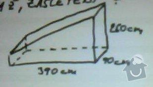 Sádrokartonové příčky do prostoru pod schody cca 4m2: nacrt