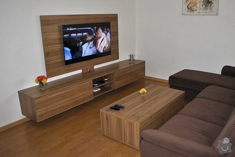 Televizní stěna + konferenční stolek: DSC_0099
