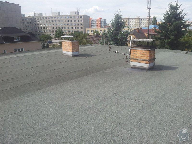 Zateplení ploché střechy : 20140825_120732
