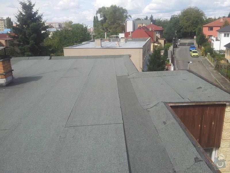Zateplení ploché střechy : 20140825_120736