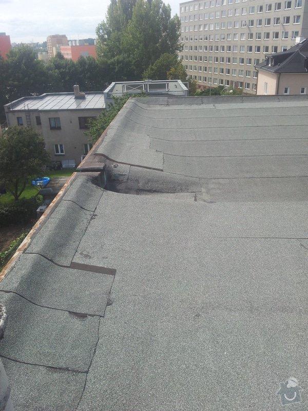 Zateplení ploché střechy : 20140825_120740
